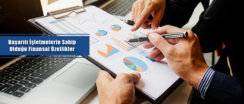 başarılı işletmelerin sahip olduğu finansal özellikler